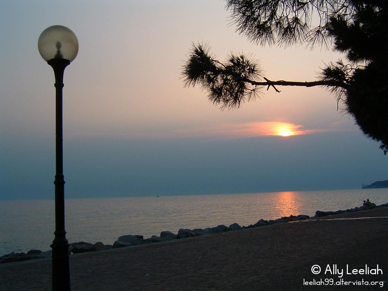 Lampione a Barcola © leeliah99.altervista.org