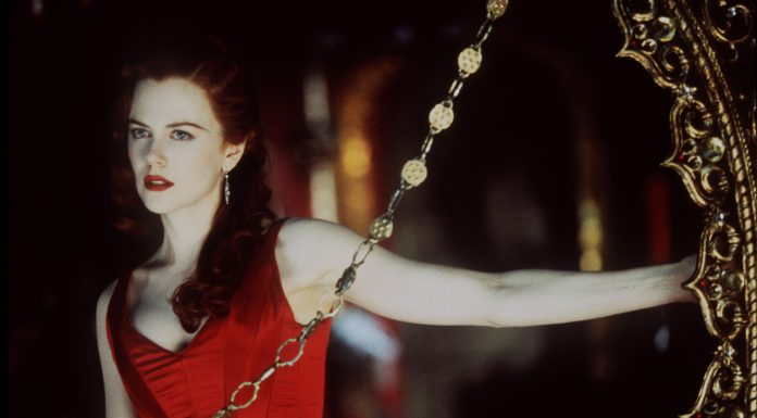 "Satine (Nicole Kidman) nel film ""Moulin Rouge"""