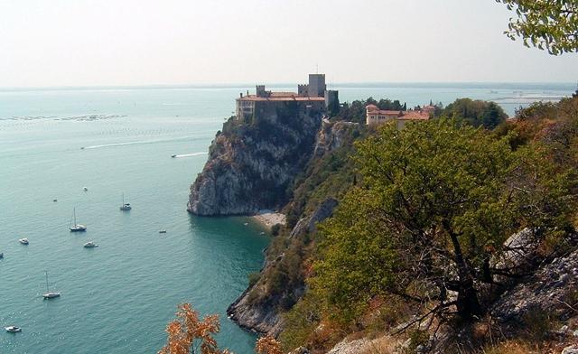 Trieste: Castello di Duino