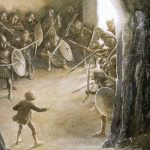 the hobbit illustrato da alan lee