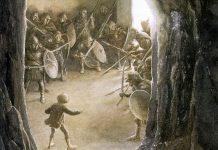the hobbit illustrato da alan lee