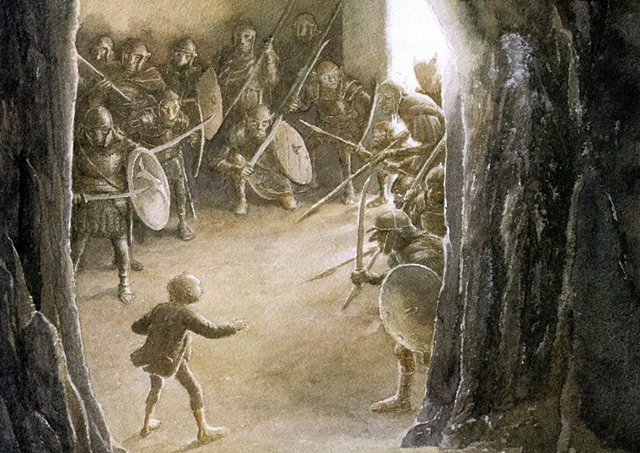 The Hobbit, illustrato da Alan Lee