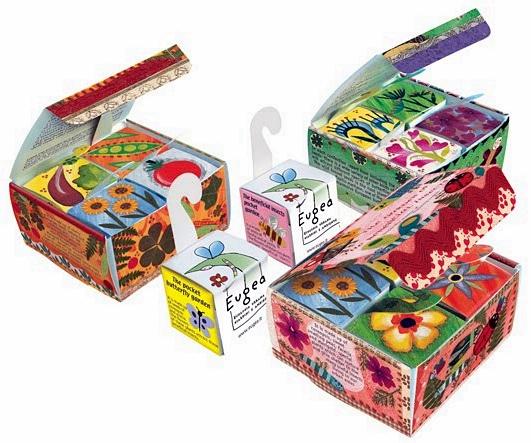 Le scatole dell'Eugea contenenti i semini © eugea.it