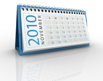 calendario novembre