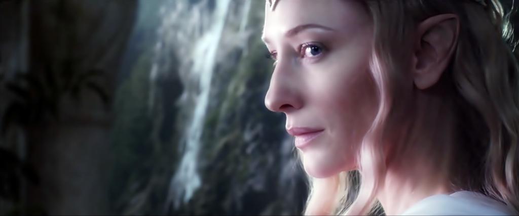 the hobbit: galadriel