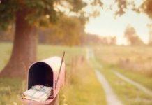 Pink mailbox