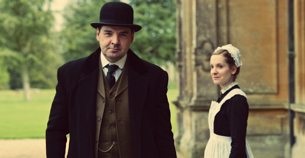 DOWNTON ABBEY - Mr. Bates e Anna