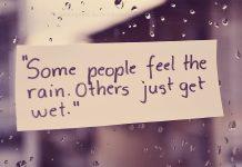 Feel the rain