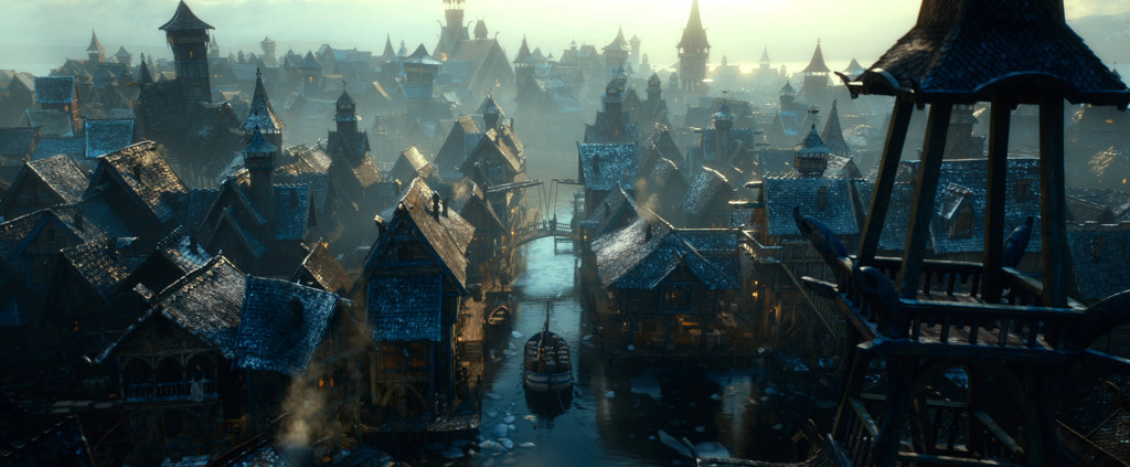 The Hobbit The Desolation of Smaug: Esgaroth (Lake Town)