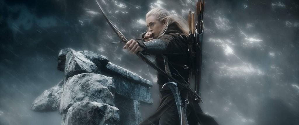 Lo Hobbit La Battaglie delle Cinque Armate: Legolas