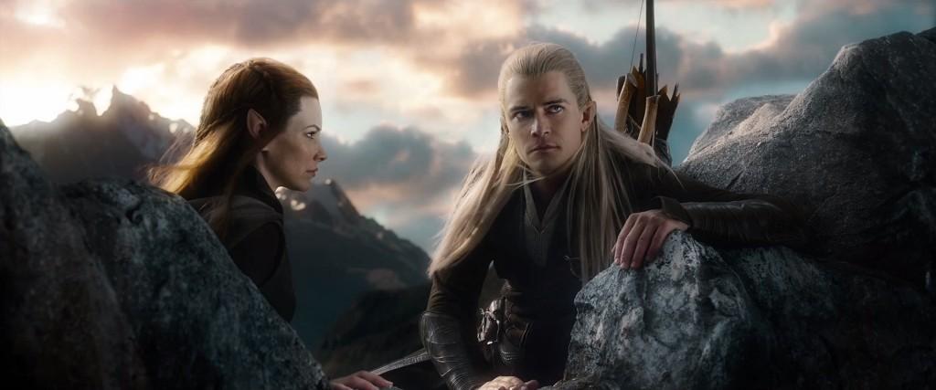 Lo Hobbit La Battaglie delle Cinque Armate: Tauriel, Legolas