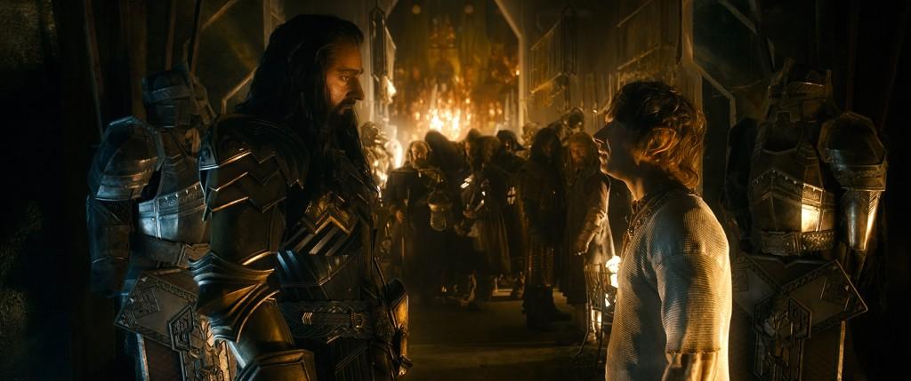 Lo Hobbit La Battaglie delle Cinque Armate: Thorin & Bilbo