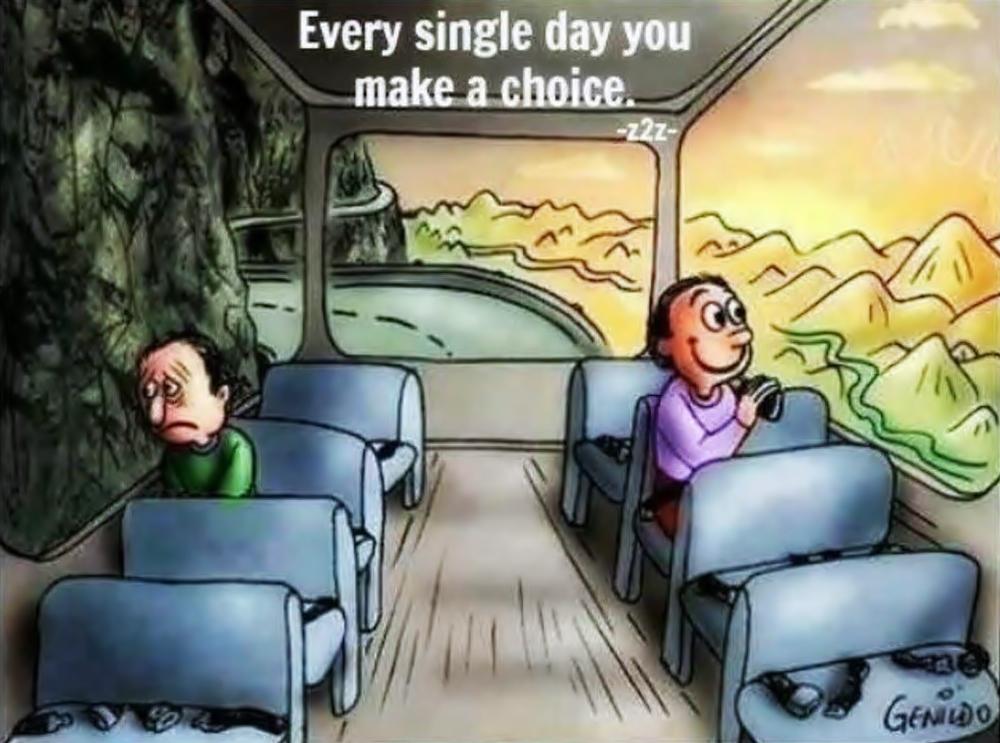 Ogni giorno fai una scelta