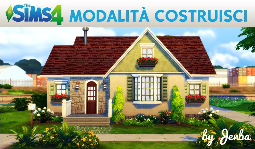 The Sims 4 Modalità Costruisci