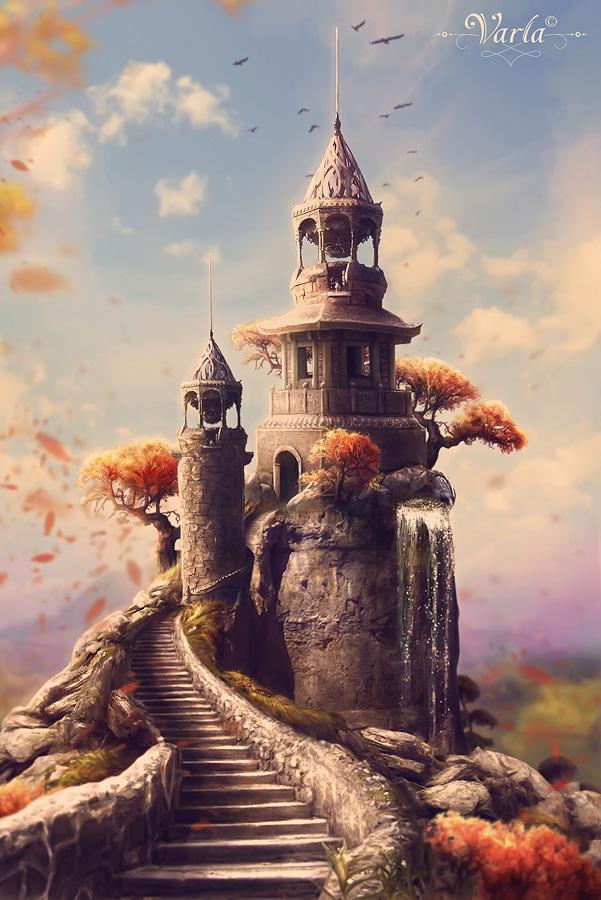The Tower Of Chronologist © VarLa-art