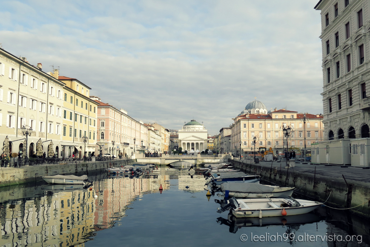 Canale di Ponterosso a Trieste © leeliah99.altervista.org