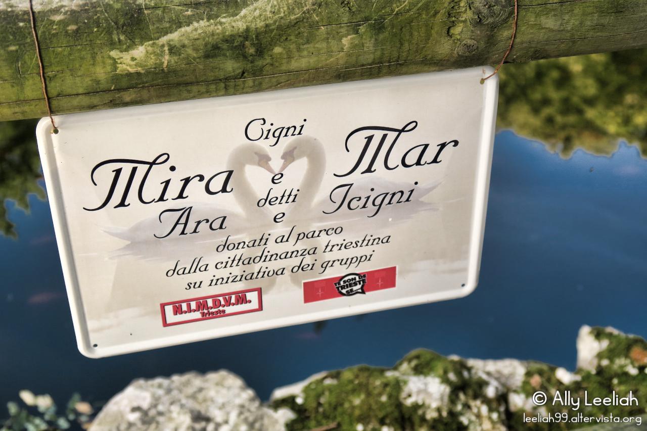 Autunno al Parco di Miramare a Trieste © leeliah99.altervista.org