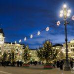 Luci natalizie in Piazza Unità a Trieste © leeliah99.altervista.org