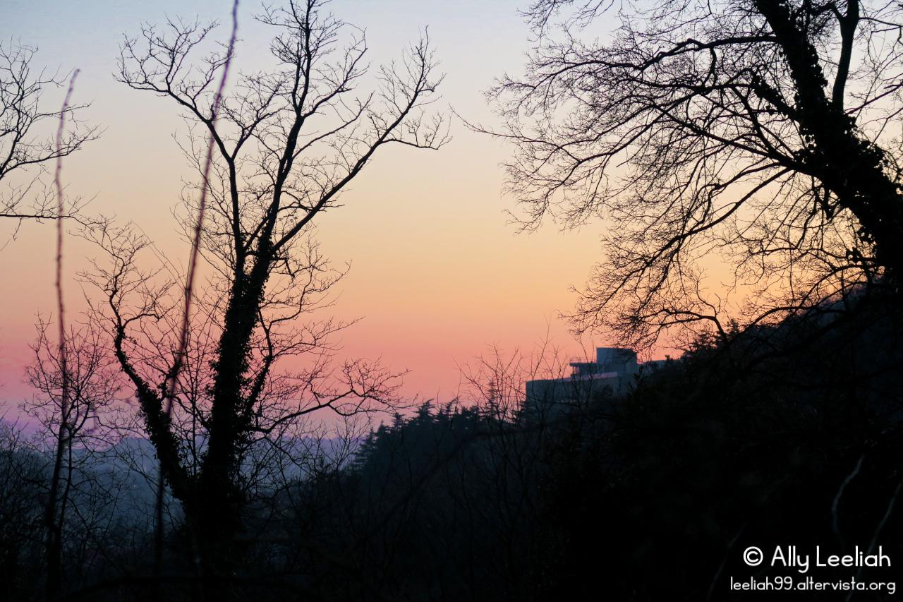 Tramonto al Parco di San Giovanni di Trieste © leeliah99.altervista.org