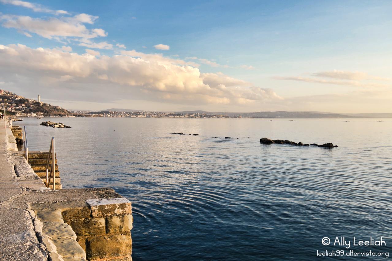 Lungomare di Barcola a Trieste © leeliah99.altervista.org