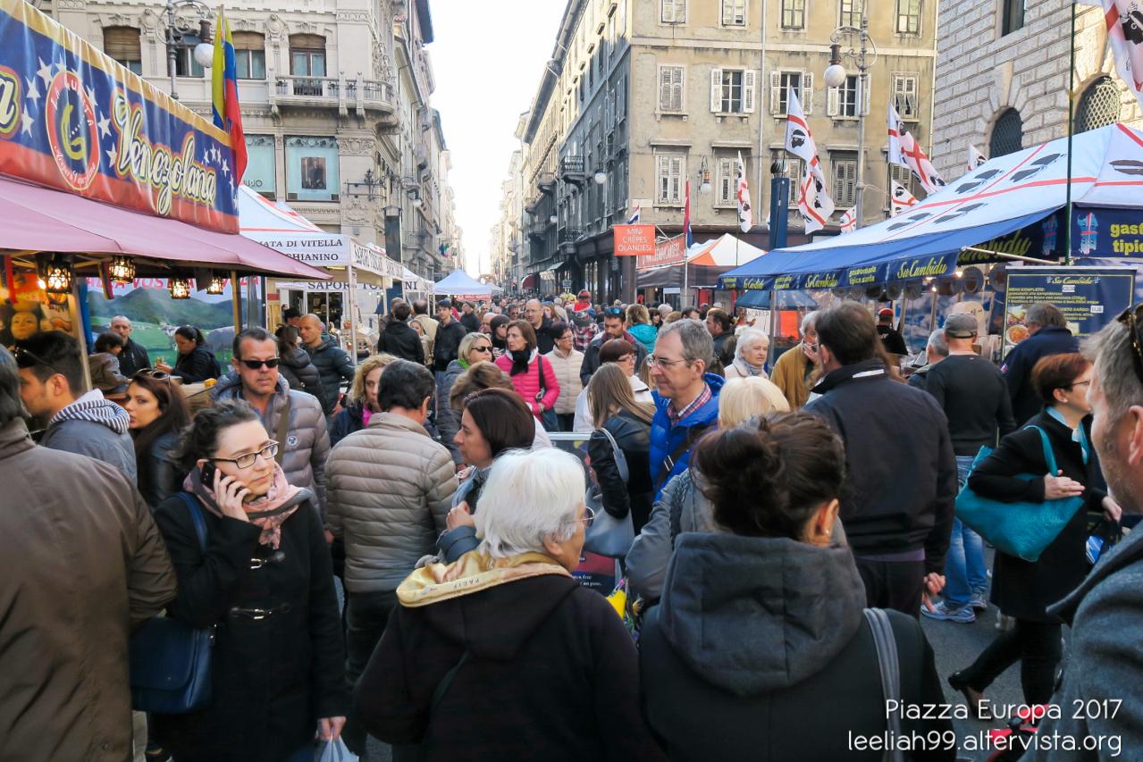 Piazza Europa a Trieste © leeliah99.altervista.org
