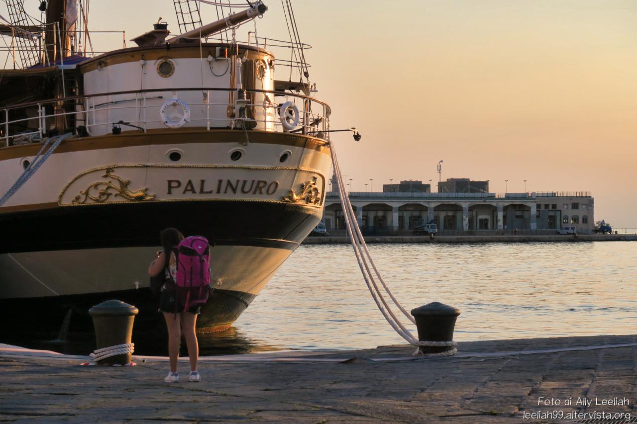 Nave scuola Palinuro a Trieste © leeliah99.altervista.org