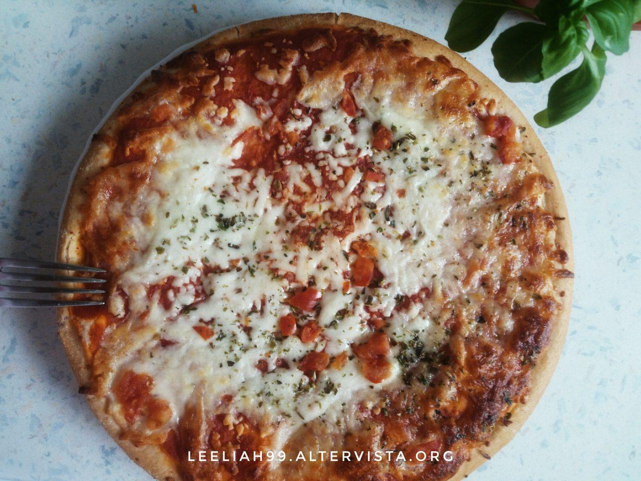 Pizza senza glutine e lattosio © leeliah99.altervista.org