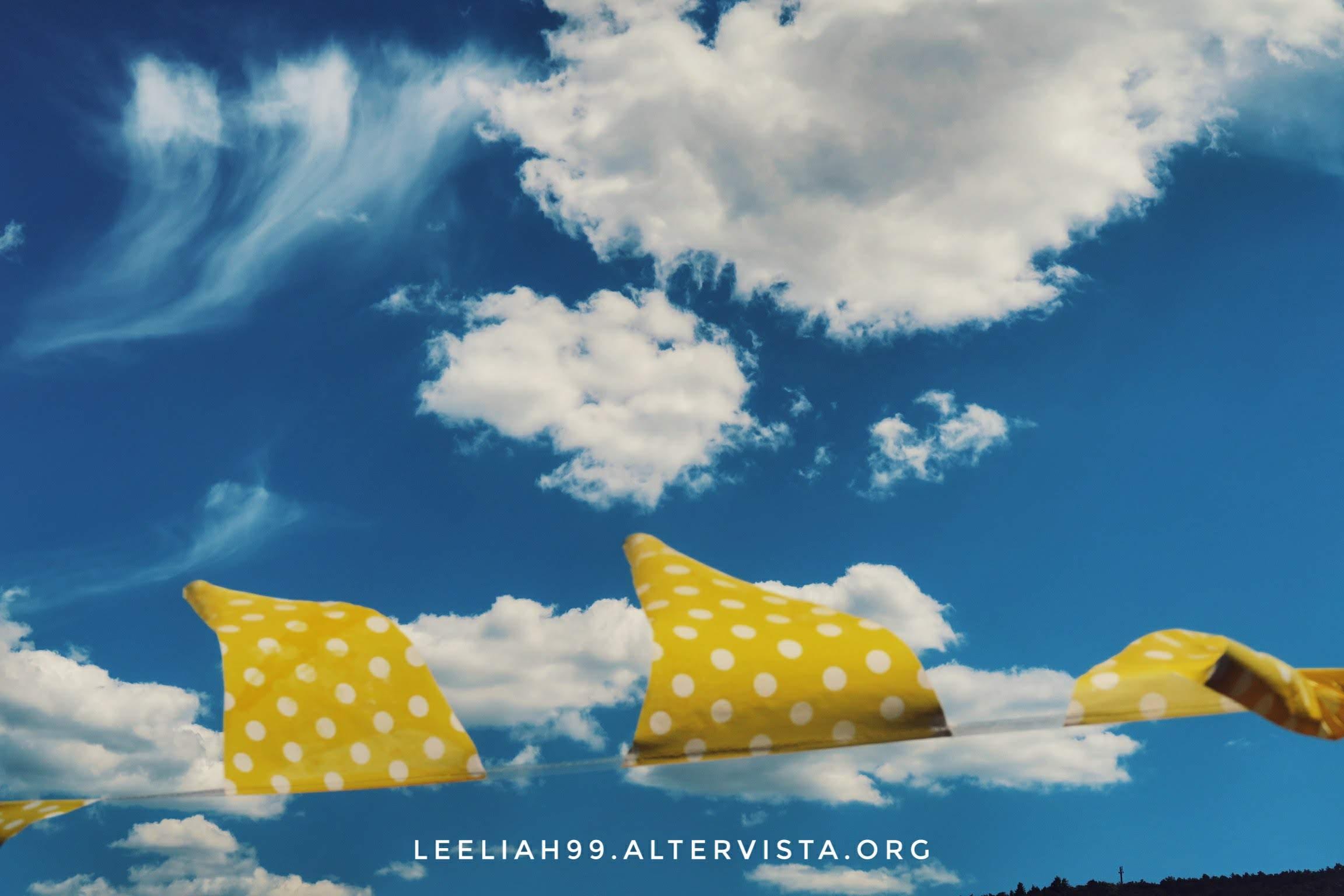 Il cielo dal terrazzo © leeliah99.altervista.org