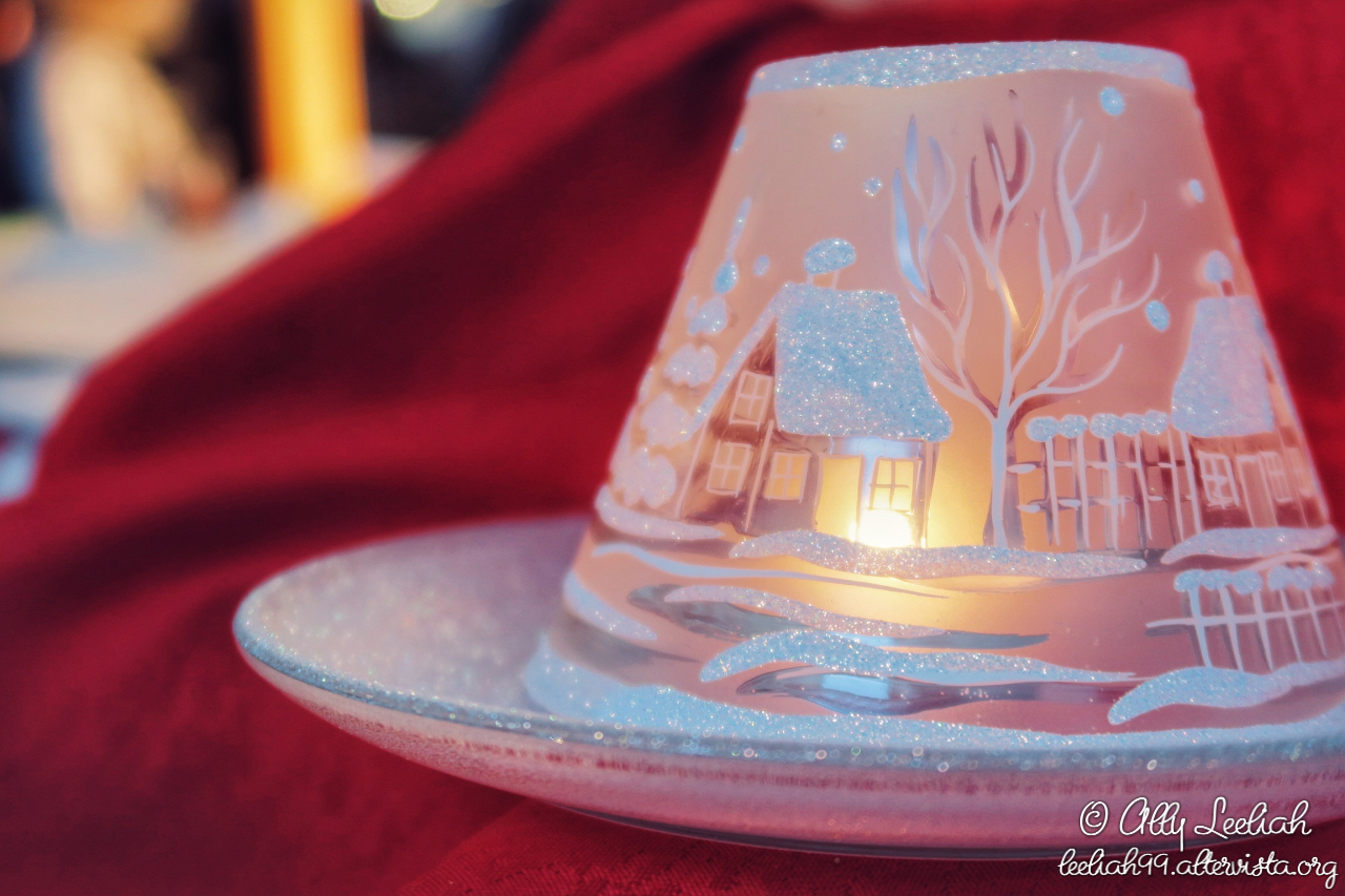 Candela natalizia © leeliah99.altervista.org