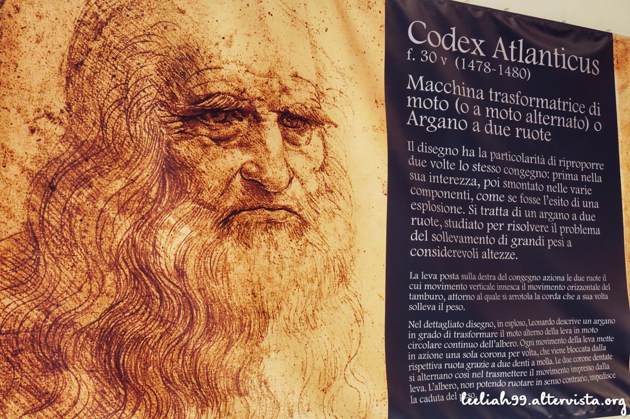 """""""Tra natura e scienza. Le macchine di Leonardo"""" © leeliah99.altervista.org"""