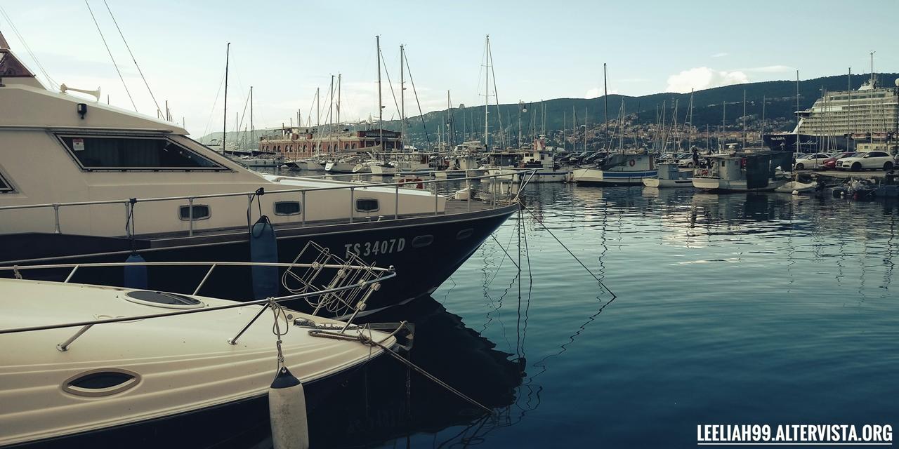 Canale Ponterosso a Trieste © leeliah99.altervista.org