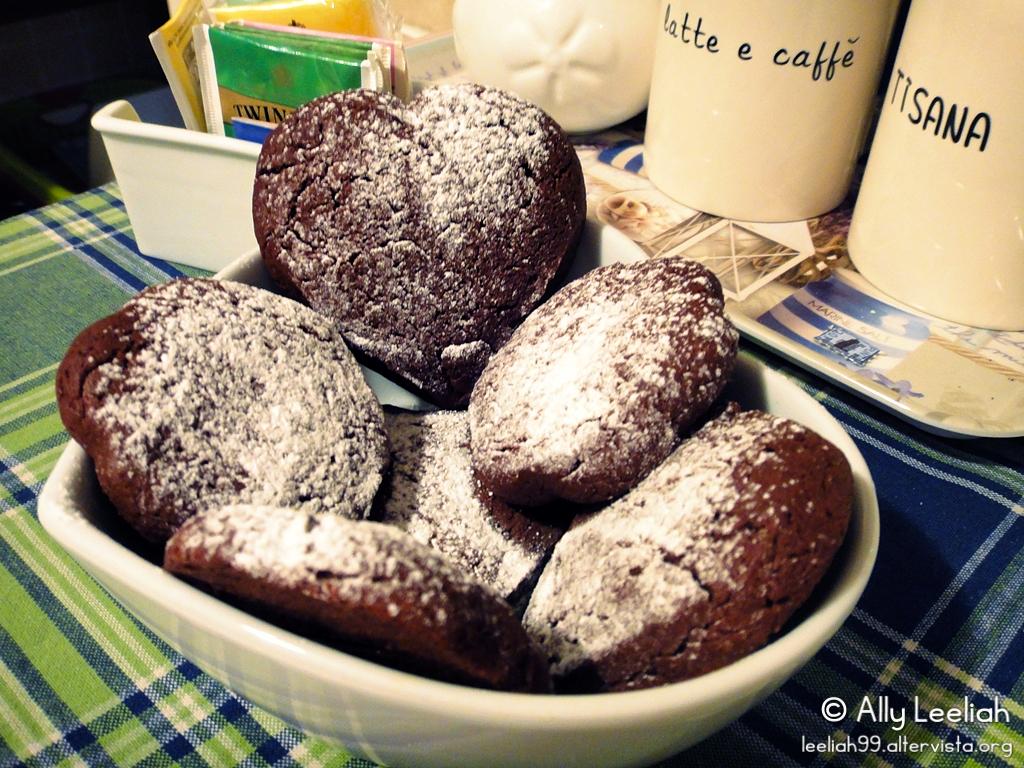 Biscotti al cioccolato © leeliah99.altervista.org