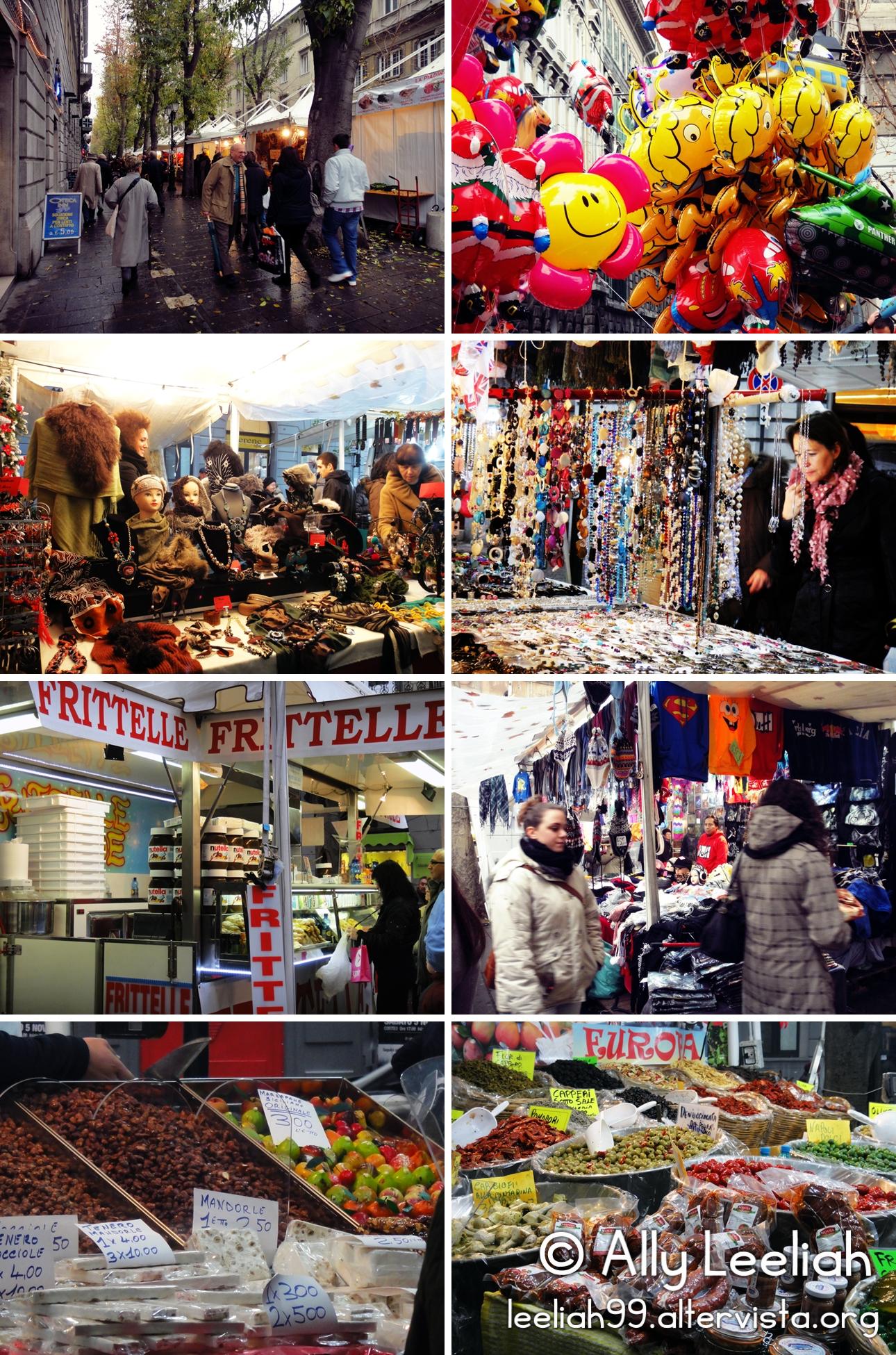 Trieste: fiera di San Nicolò © leeliah99.altervista.org