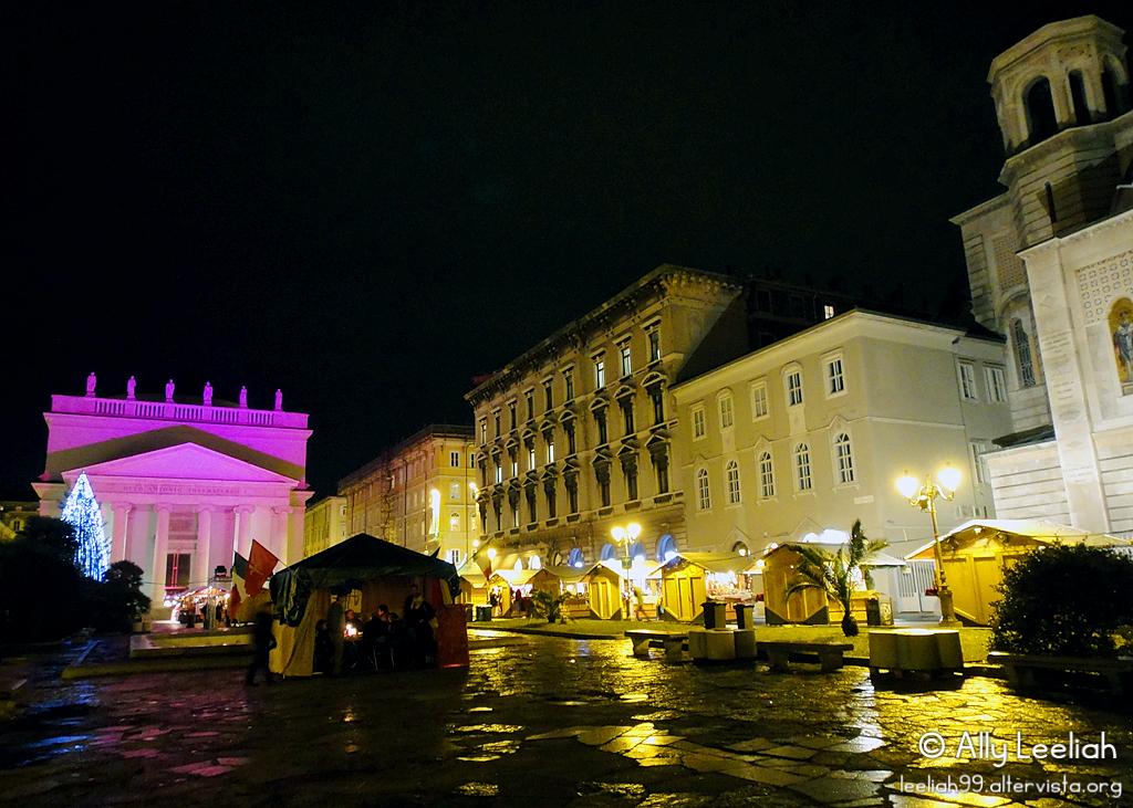 Mercatino natalizio a Trieste © leeliah99.altervista.org