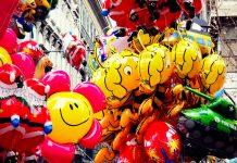 Palloncini alla fiera di San Nicolò a Trieste © leeliah99.altervista.org