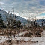 Il roseto del Parco di San Giovanni in inverno © leeliah99.altervista.org