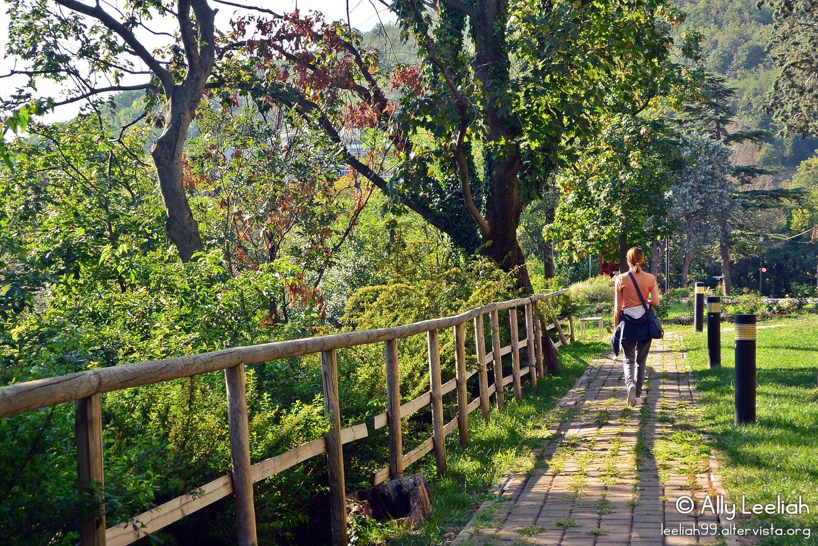 Passeggiata panoramica nel Parco di San Giovanni, Trieste © leeliah99.altervista.org