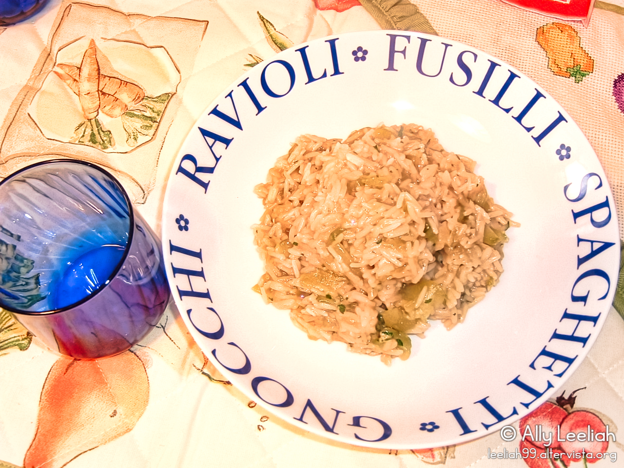 Risocchio ai cetrioli © leeliah99.altervista.org