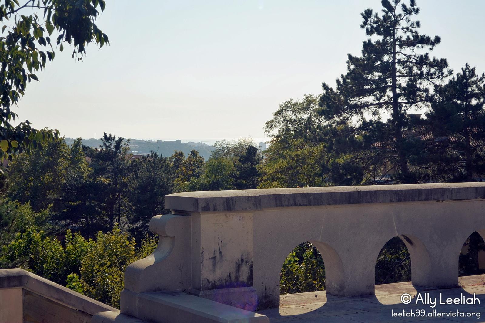 La scalinata panoramica nel Parco di San Giovanni, Trieste © leeliah99.altervista.org