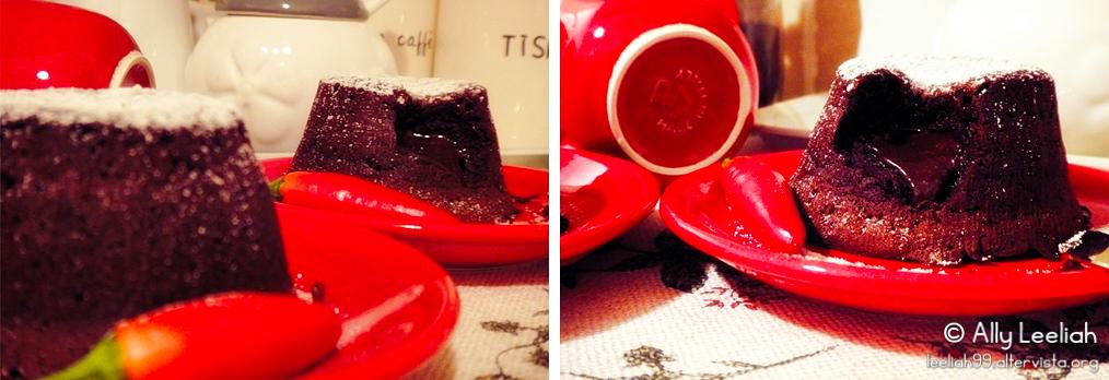 Tortini al cioccolato con cuore tenero © leeliah99.altervista.org