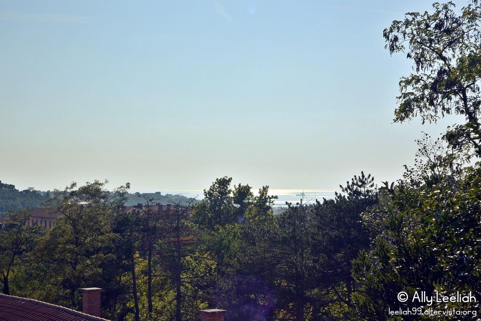 Vista mare dal Parco di San Giovanni, Trieste © leeliah99.altervista.org